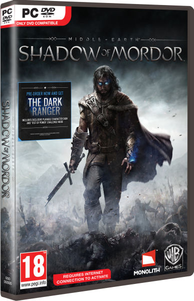 Middle Earth Shadow Of Mordor Pc Zavvi