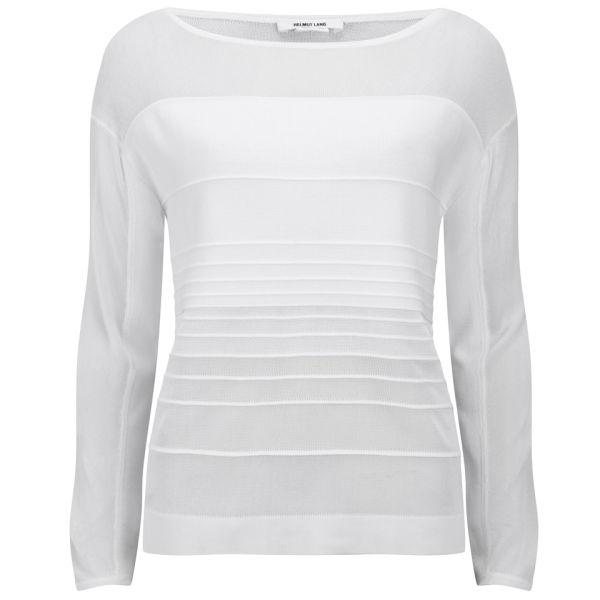 Helmut Lang Women's Degrade Pullover - Mineral White