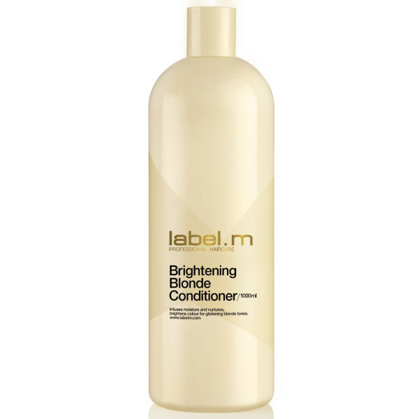 label.m Brightening Blonde Conditioner (1000 ml) - (värt 52,50 £)