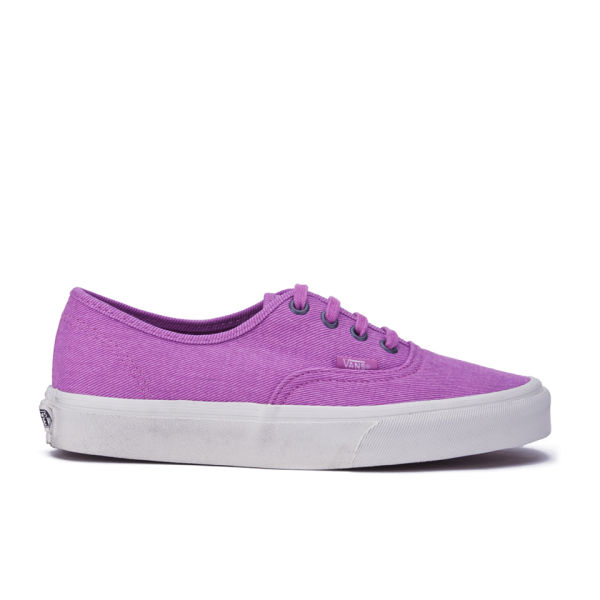 Vans Women's Authentic Overwashed Trainers - Radiant Orchid