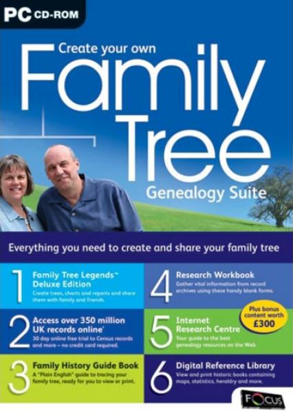create your own family tree genealogy suite computing zavvi