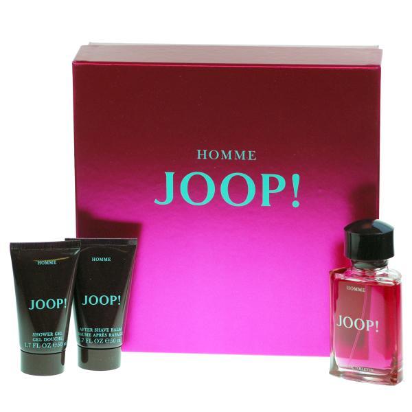 uk store lowest price new design Joop Homme Gift Set - 75ml Eau de Toilette 50ml Aftershave and 50ml Shower  Gel