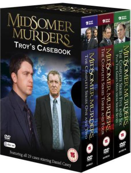 Midsomer murders troy 39 s casebook dvd zavvi Midsomer murders garden of death