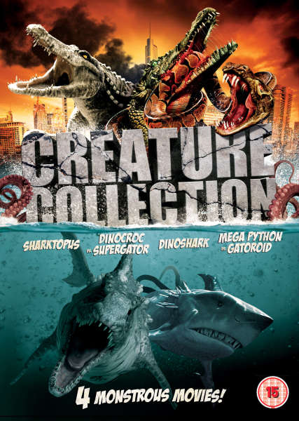 Creature Collection Sharktopus Dinoshark Dinocroc Vs