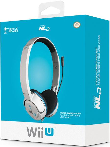 Official Wii U Turtle Beach Ear Force Nla Headset White