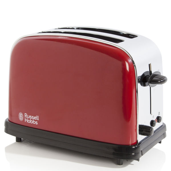 russell hobbs 2 slice toaster flame red homeware. Black Bedroom Furniture Sets. Home Design Ideas