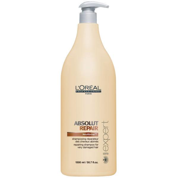 Shampooing réparateur L'Oréal Série Expert Absolut Repair (1500ml) - Pompe inclue