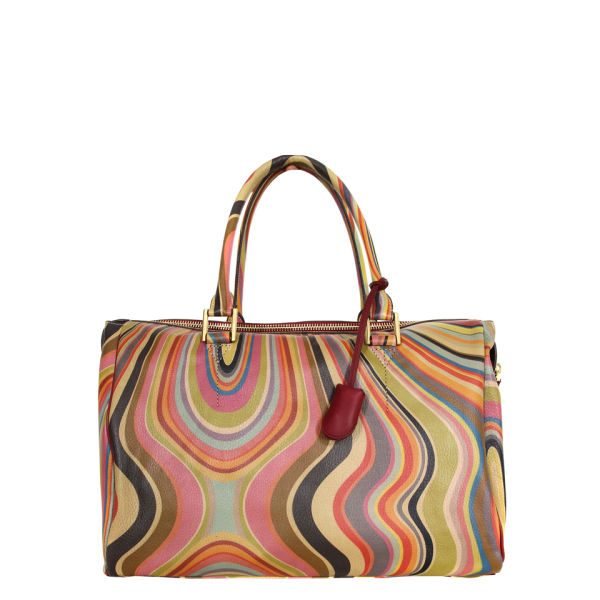 Paul Smith Accessories Women's Large Tulip 3012-V26 Multi Bag - Swirl