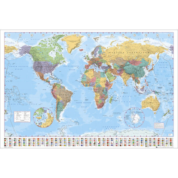 World Map 2012 - Maxi Poster - 61 x 91.5cm