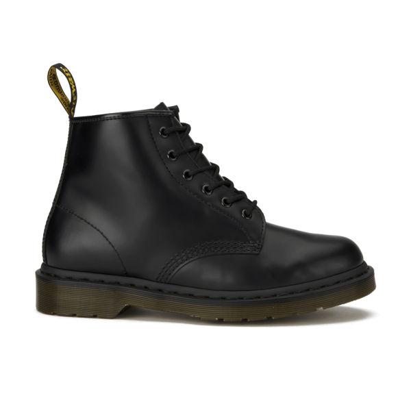 Dr. Martens Men's 101 Harvest Leather 6-Eye Lace Up Boots - - UK 8 0YNVKB5Y