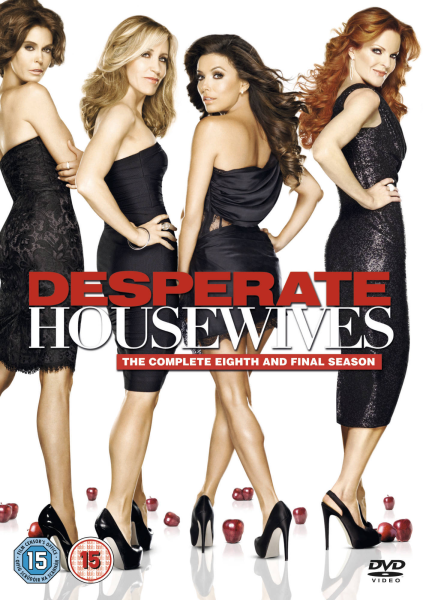 desperate housewives season 8 dvd zavvi. Black Bedroom Furniture Sets. Home Design Ideas