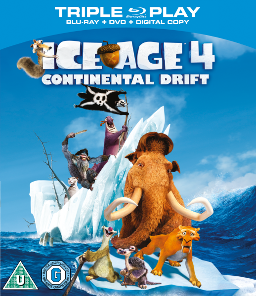 film ice age 4 continental drift blu ray