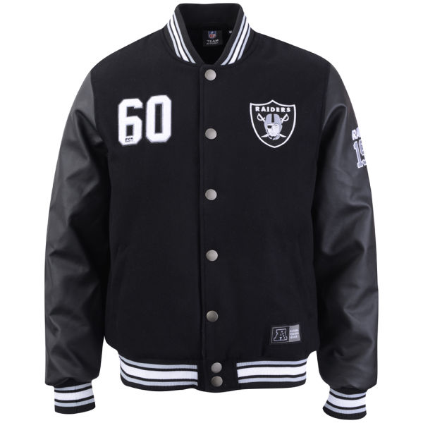 All Black Letterman Jacket