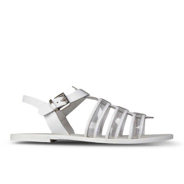 Sol Sana Women's Dolly Leather Sandals - White
