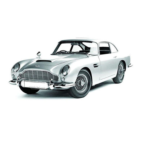 Hot Wheels Elite James Bonds Aston Martin BD5 From Goldfinger 1:43 Scale Model