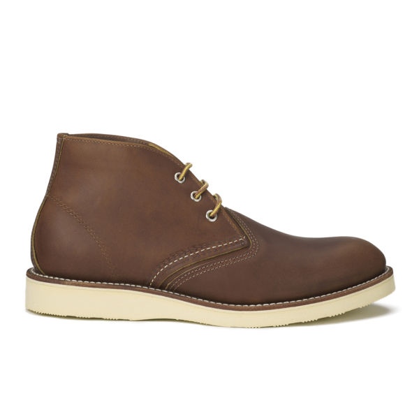 Red Wing Men's Chukka Leather Boots - Oro-iginal