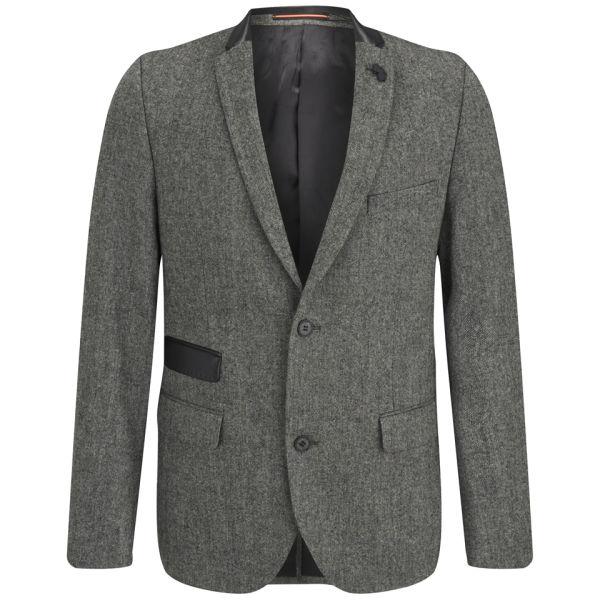 Luke 1977 Men s Soeron 2 Single Breasted Blazer - Charcoal Clothing ... 62c90da66