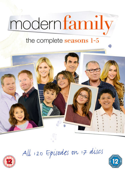 modern family seasons 1 5 dvd zavvi