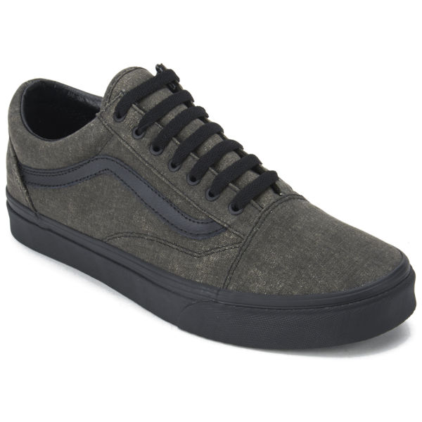 Men's Delivery Skool Washed Vans Black Trainers Free Old Uk FdpxZxwqR