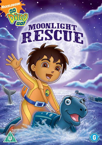 Go Diego Go Moonlight Rescue Dvd Zavvi Uk