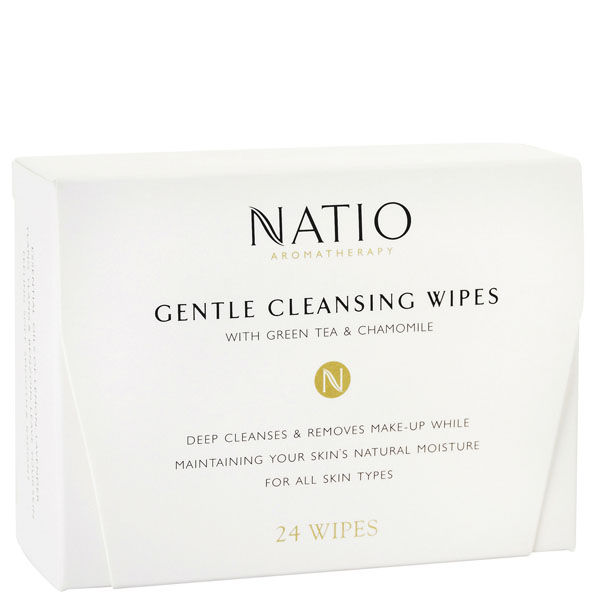 Natio Gentle Cleansing Wipes (24 Wipes)