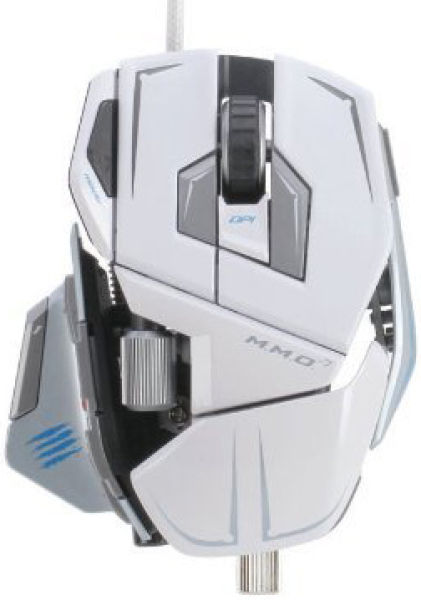 Mad Catz M M O 7 Mouse White Pc Accessories Zavvi