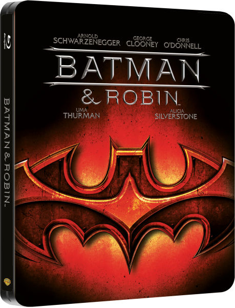 Batman and Robin - Steelbook Edition (UK EDITION)