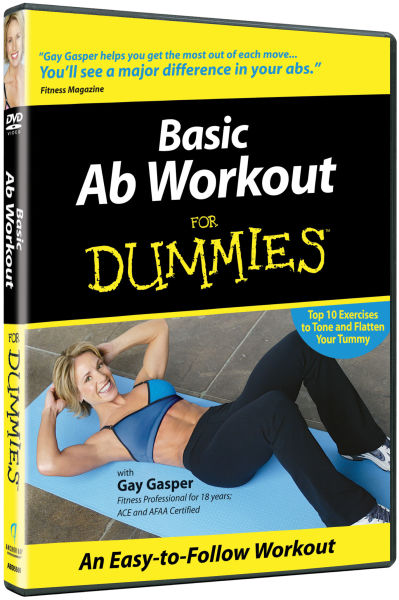 Basic Ab Workout For Dummies DVD