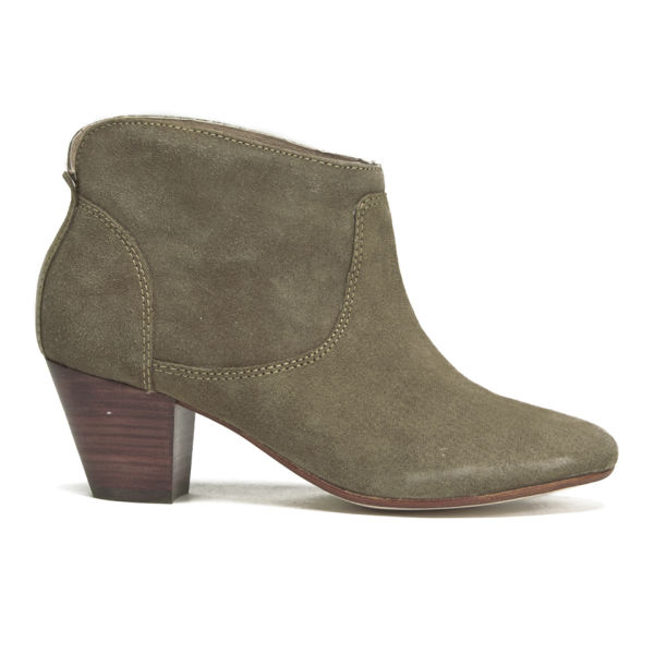 h shoes by hudson s kiver suede heeled ankle boots