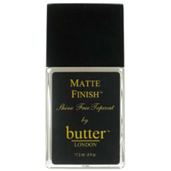 Butter London Nail Lacquer - Matte Finish Top Coat (17.5ml)