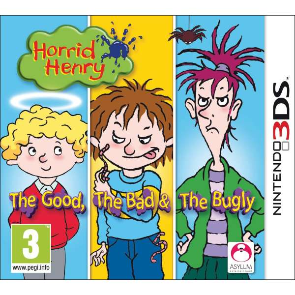 Horrid Henry The Good Bad And Bugly Nintendo 3DS