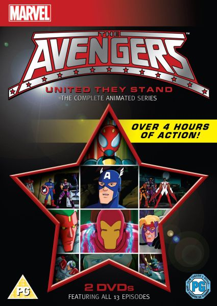 The Avengers The Complete Animated Series Dvd Zavvi