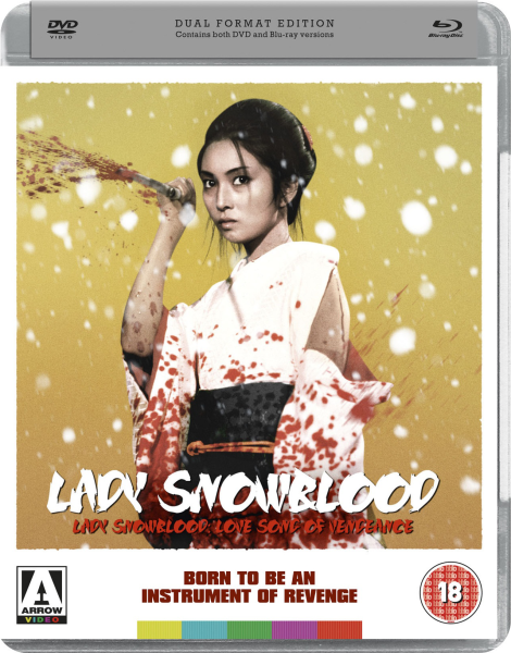 Lady Snowblood / Lady Snowblood 2 (Blu-Ray and DVD)