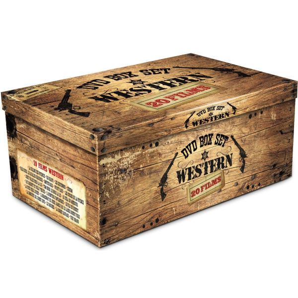 Dynamite Westerns Box Set Dvd Zavvi