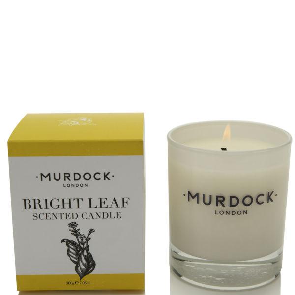 Murdock London Bright Leaf Candle 200g
