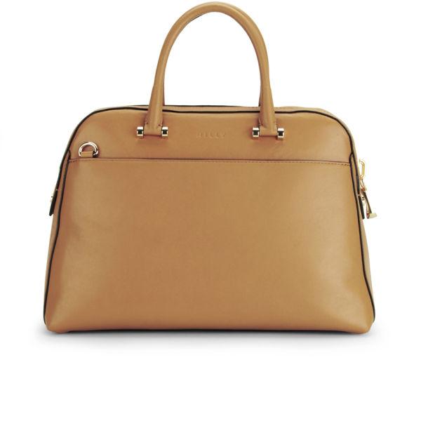 MILLY Blake Medium Kettle Leather Tote Bag - Caramel