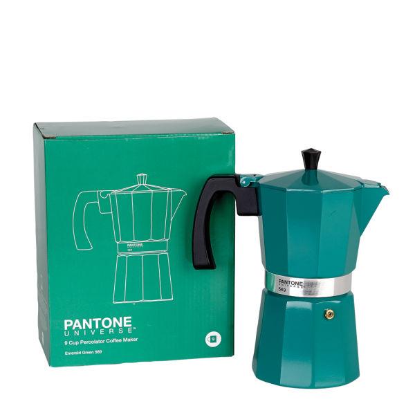 Pantone Tassen pantone 9 cup coffee percolator emerald green iwoot