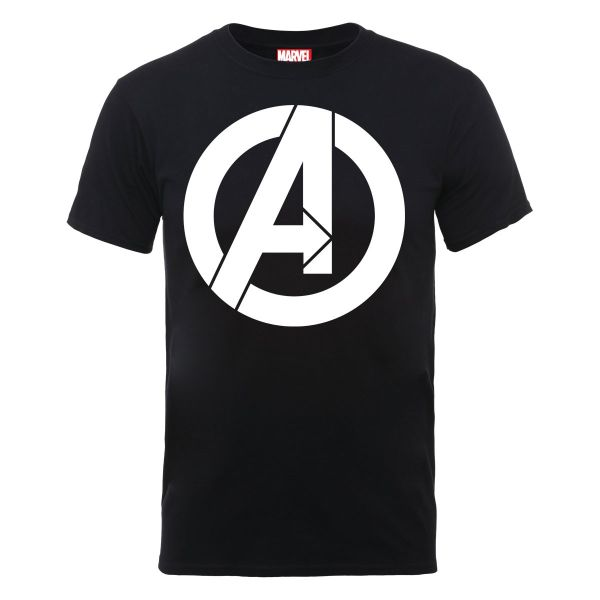 Mens Avengers Simple Logo T-Shirt MARVEL Factory Outlet Cheap Online Cheap Sale Outlet Locations Cheap Pay With Paypal Low Cost Cheap Online gNPWGXWb