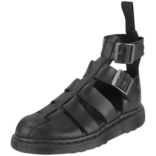 Dr Martens Womens Geraldo Ankle Strap Leather Sandals