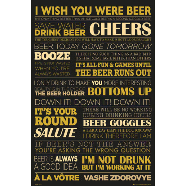 Beer Life - Maxi Poster - 61 x 91.5cm