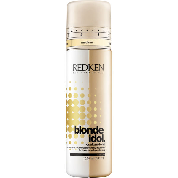 Redken Blonde Idol Custom-Tone Gold après-shampooing (196ml).