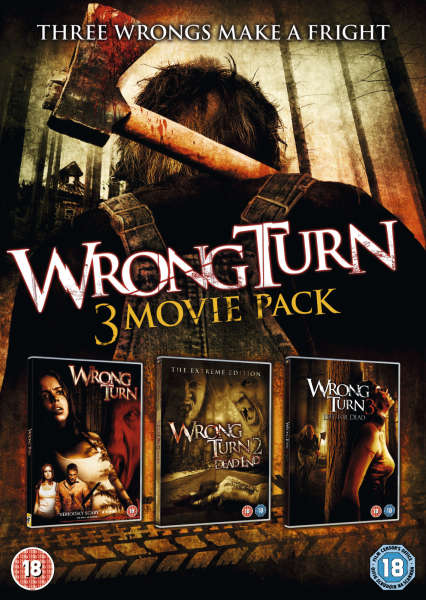 Wrong Turn Trilogy Dvd