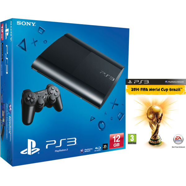 New Ps3 Games 2014 : Ps new sony playstation slim console gb black