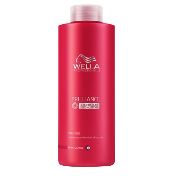 Wella Professionals Brilliance Coarse Shampoo 1000ml