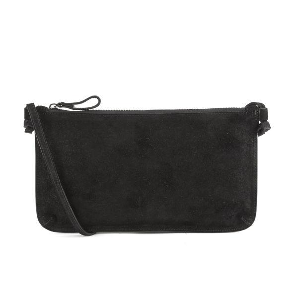 bb43429046 Yvonne Koné Women's Large Purse Crossbody Bag - Brushed Buffalo Leather  Black: Image 1