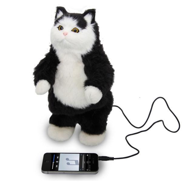 Dancing Cat Speaker Gif