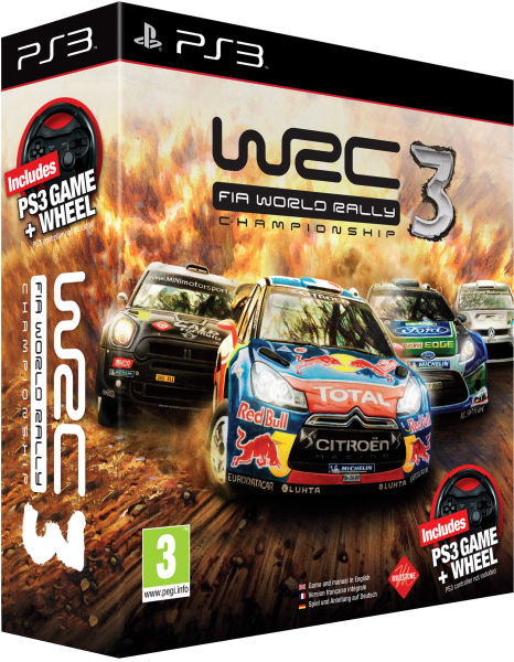 Wrc 3 World Rally Championship Steering Wheel Bundle Ps3