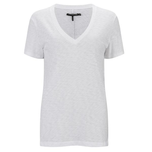 rag & bone Women's Jackson V-Neck T-Shirt - Bright White