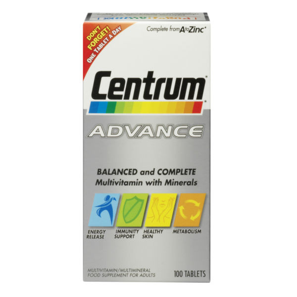 Centrum Advance Multivitamin Tablets - (60 Tablets)
