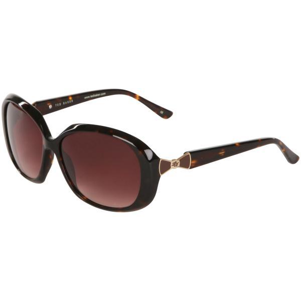 65b365f8be7b Ted Baker Debby Oversized Bow detail arm Sunglasses- tortoise frame ...